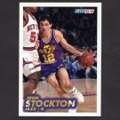 1993-94 Fleer Basketball #212 John Stockton - Utah Jazz