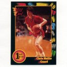 1991-92 Wild Card Basketball #013 Chris Mullin