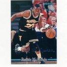 1995 Classic Basketball Silver Signatures #088 Ronnie McMahan - Vanderbilt