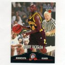 1997 Score Board Rookies Basketball #034 Bobby Jackson - Minnesota / Denver Nuggets