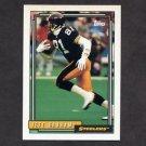 1992 Topps Football #362 Jeff Graham - Pittsburgh Steelers