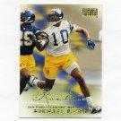 1998 SkyBox Premium Football #222 Mikhael Ricks RC - San Diego Chargers