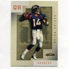 2001 Fleer Showcase Football #066 Brian Griese - Denver Broncos