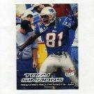 2000 Ultra Football #027 Tony Simmons - New England Patriots