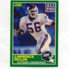 1989 Score Football #295 Lawrence Taylor AP - New York Giants