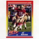 1990 Score Football #582 Joe Montana AP - San Francisco 49ers