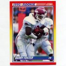 1990 Score Football #308 Barry Foster RC - Pittsburgh Steelers
