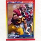 1990 Score Football #302 Junior Seau RC - San Diego Chargers