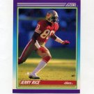 1990 Score Football #200 Jerry Rice - San Francisco 49ers
