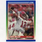 1990 Score Football #070 Chris Miller - Atlanta Falcons