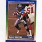 1990 Score Football #020 Barry Sanders - Detroit Lions