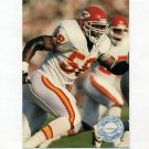 1991 Pro Set Platinum Football #051 Derrick Thomas - Kansas City Chiefs