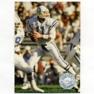 1991 Pro Set Platinum Football #045 Jeff George - Indianapolis Colts