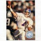 1991 Pro Set Platinum Football #028 John Elway - Denver Broncos NM-M