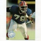 1991 Pro Set Platinum Football #008 Bruce Smith - Buffalo Bills