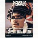 1991 Pro Set Spanish Football #298 Anthony Munoz Think - Cincinnati Bengals