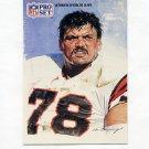 1991 Pro Set Spanish Football #290 Anthony Munoz SS - Cincinnati Bengals