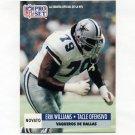 1991 Pro Set Spanish Football #277 Erik Williams - Dallas Cowboys
