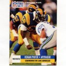 1991 Pro Set Spanish Football #268 Roman Phifer - Los Angeles Rams