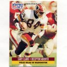 1991 Pro Set Spanish Football #245 Gary Clark - Washington Redskins