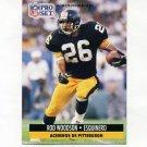 1991 Pro Set Spanish Football #207 Rod Woodson - Pittsburgh Steelers