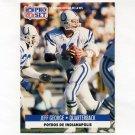 1991 Pro Set Spanish Football #097 Jeff George - Indianapolis Colts