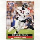 1991 Pro Set Spanish Football #008 Deion Sanders - Atlanta Falcons