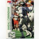 1992 Pro Set Football #611 Randall Cunningham - Philadelphia Eagles