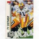 1992 Pro Set Football #504 Ty Detmer - Green Bay Packers