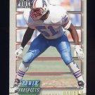 1993 Power Update Football Prospects Gold #33 Michael Barrow - Houston Oilers