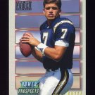 1993 Power Update Football Prospects Gold #03 Trent Green RC - San Diego Chargers