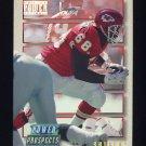 1993 Power Update Football Prospects #54 Will Shields RC - Kansas City Chiefs