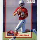 1993 Power Football Power Moves #PM12 Jeff Hostetler - Los Angeles Raiders