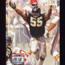 1993 Power Football #055 Junior Seau - San Diego Chargers