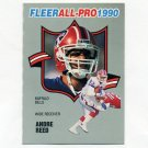 1990 Fleer Football All-Pros #24 Andre Reed - Buffalo Bills
