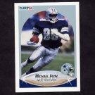 1990 Fleer Football #389 Michael Irvin - Dallas Cowboys