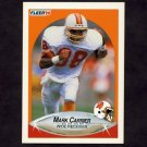 1990 Fleer Football #343 Mark Carrier - Tampa Bay Buccaneers