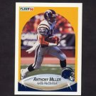1990 Fleer Football #311 Anthony Miller - San Diego Chargers
