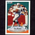 1990 Fleer Football #244 Dan Marino - Miami Dolphins
