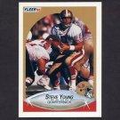 1990 Fleer Football #017 Steve Young - San Francisco 49ers