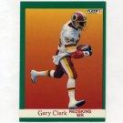 1991 Fleer Football #384 Gary Clark - Washington Redskins