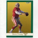 1991 Fleer Football #367 Steve Young - San Francisco 49ers