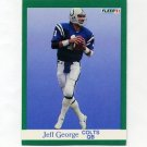 1991 Fleer Football #081 Jeff George - Indianapolis Colts