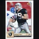 1992 Upper Deck Football #482 Howie Long - Los Angeles Raiders