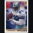 1992 Upper Deck Football #361 Michael Irvin MVP - Dallas Cowboys