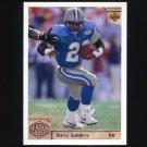 1992 Upper Deck Football #306 Barry Sanders SL - Detroit Lions