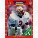 1989 Pro Set Football #486 Deion Sanders RC - Atlanta Falcons