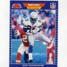1989 Pro Set Football #390 Brian Blades RC - Seattle Seahawks