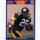 1989 Pro Set Football #354 Rod Woodson RC - Pittsburgh Steelers