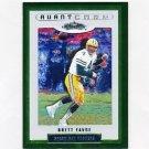 2002 Fleer Showcase Football #135 Brett Favre AC - Green Bay Packers